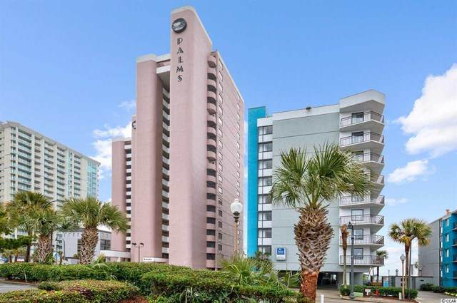 2406 N Ocean Blvd. #805, Myrtle Beach, SC 29577 (MLS #2104099) :: Grand Strand Homes & Land Realty