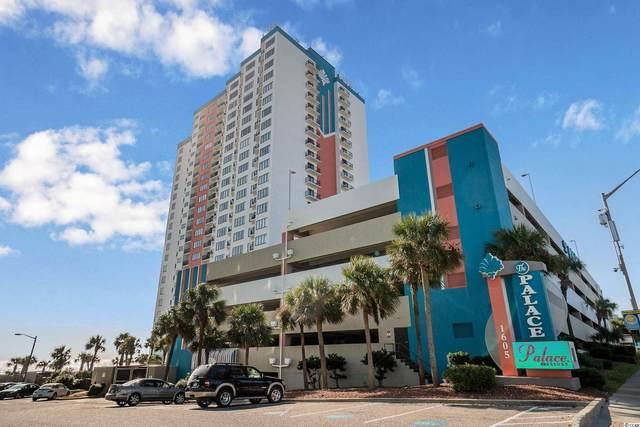 1605 S Ocean Blvd. #1104, Myrtle Beach, SC 29577 (MLS #2107161) :: The Litchfield Company