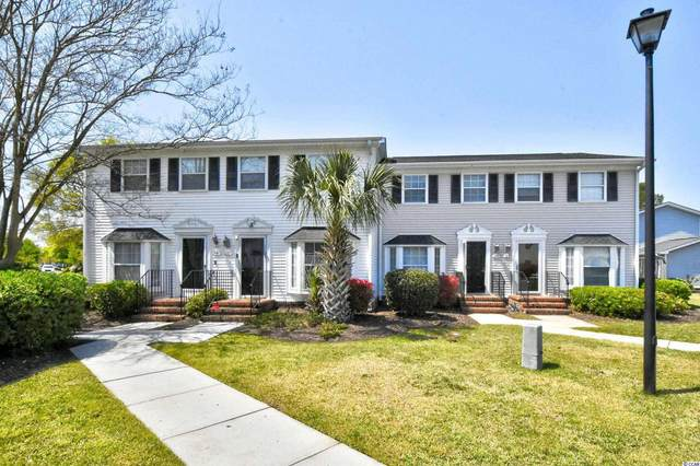 121 Carriage Row Ln. #121, Myrtle Beach, SC 29577 (MLS #2107618) :: Duncan Group Properties