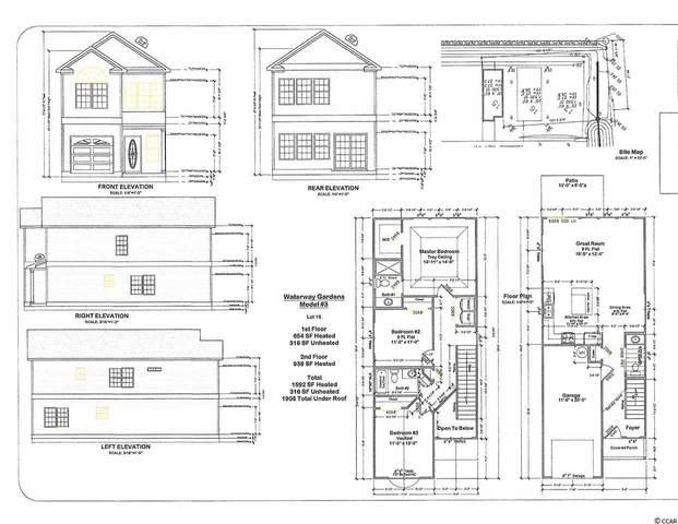 415 Terrace View Ct., Myrtle Beach, SC 29579 (MLS #2107811) :: The Litchfield Company