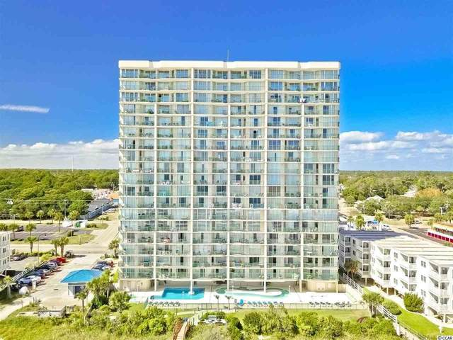 3805 S Ocean Blvd. #1802, North Myrtle Beach, SC 29582 (MLS #2108323) :: James W. Smith Real Estate Co.