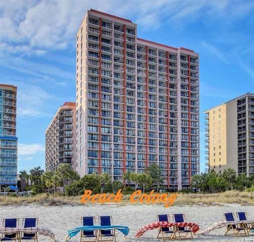 5308 N Ocean Blvd. #1607, Myrtle Beach, SC 29577 (MLS #2108515) :: The Lachicotte Company