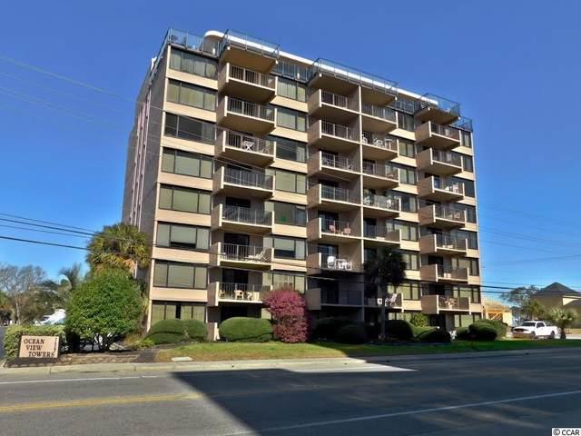 7603 N Ocean Blvd. 4F, Myrtle Beach, SC 29572 (MLS #2108860) :: James W. Smith Real Estate Co.
