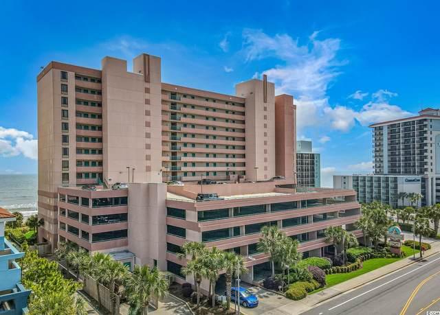 2207 S Ocean Blvd. #1217, Myrtle Beach, SC 29577 (MLS #2110142) :: The Lachicotte Company