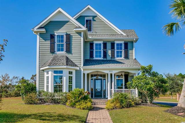392 St. Julian Ln., Myrtle Beach, SC 29579 (MLS #2110336) :: The Lachicotte Company