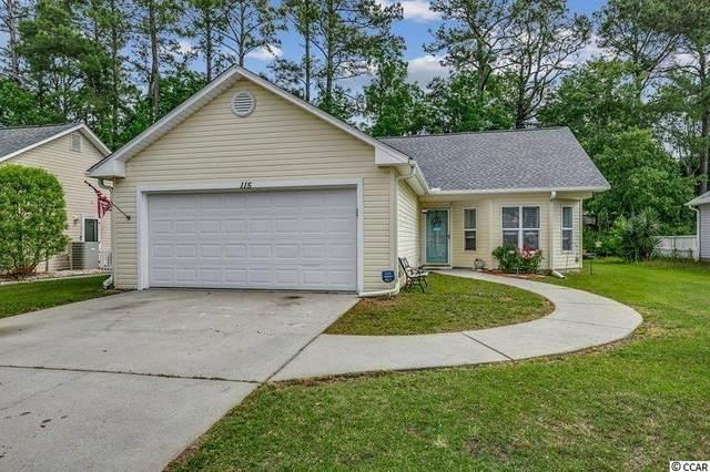 115 Retreat Pl., Little River, SC 29566 (MLS #2110444) :: Armand R Roux | Real Estate Buy The Coast LLC
