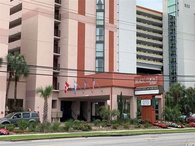 5308 N Ocean Blvd. #801, Myrtle Beach, SC 29577 (MLS #2110480) :: The Hoffman Group
