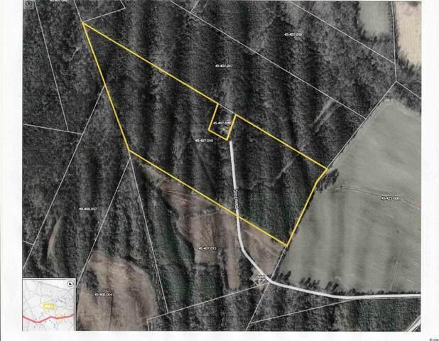 37.5 ac Grier Crossing Rd., Hemingway, SC 29554 (MLS #2110551) :: Coldwell Banker Sea Coast Advantage