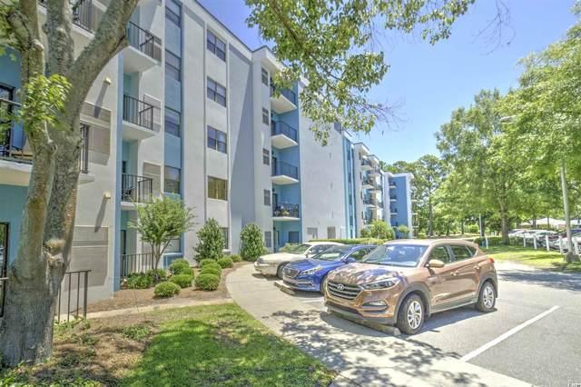 5001 Little River Rd. E-108, Myrtle Beach, SC 29577 (MLS #2114088) :: The Hoffman Group