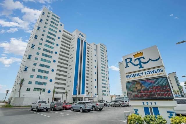 2511 S Ocean Blvd. #1107, Myrtle Beach, SC 29577 (MLS #2118872) :: BRG Real Estate
