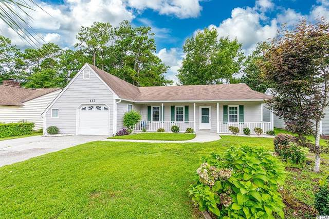 137 Woodlake Dr., Murrells Inlet, SC 29576 (MLS #2119193) :: The Lachicotte Company