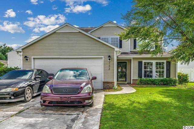 753 Dragonfly Dr., Myrtle Beach, SC 29579 (MLS #2119585) :: Scalise Realty