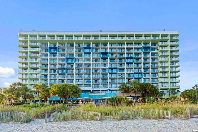 1105 S Ocean Blvd. #524, Myrtle Beach, SC 29577 (MLS #2121762) :: Hawkeye Realty