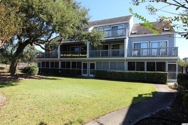 1850 Colony Dr. 1-D, Surfside Beach, SC 29575 (MLS #2123648) :: James W. Smith Real Estate Co.