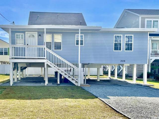 300 32nd Ave. N, North Myrtle Beach, SC 29582 (MLS #2123883) :: The Lachicotte Company