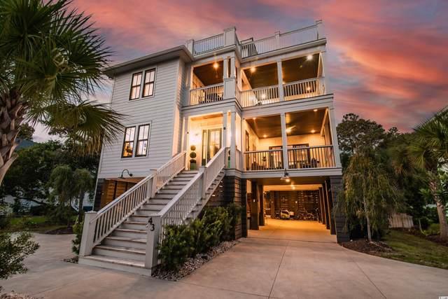 43 Belvedere Ln., Pawleys Island, SC 29585 (MLS #2123932) :: Duncan Group Properties