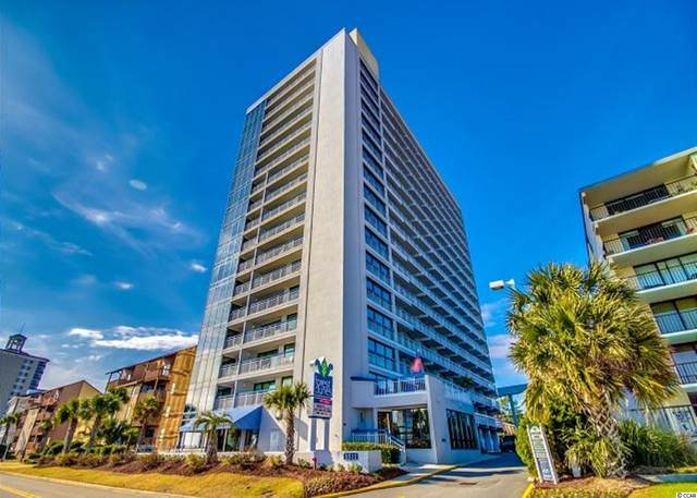 5511 N Ocean Blvd. #1702, Myrtle Beach, SC 29577 (MLS #2124086) :: Chris Manning Communities