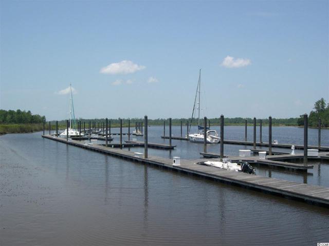 Boat Slip #1 Friendfield Marina, Georgetown, SC 29440 (MLS #1716067) :: Armand R Roux | Real Estate Buy The Coast LLC
