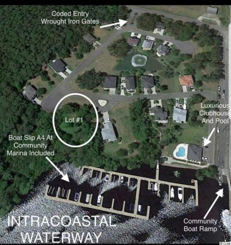 Lot 1 Harbor Oaks Drive, Myrtle Beach, SC 29588 (MLS #1717639) :: James W. Smith Real Estate Co.