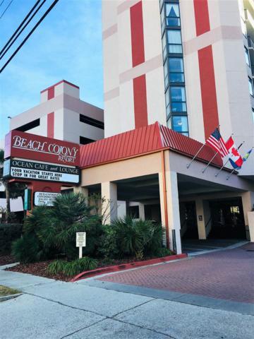 5308 N Ocean Blvd #1004, Myrtle Beach, SC 29577 (MLS #1725311) :: Trading Spaces Realty