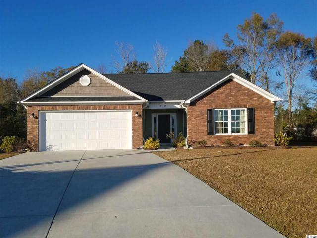 219 Oak Landing Drive, Conway, SC 29527 (MLS #1725584) :: The HOMES and VALOR TEAM
