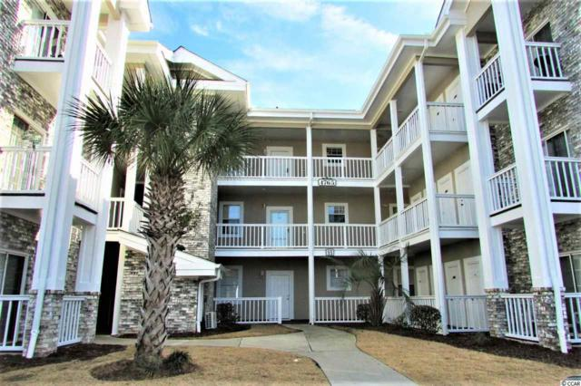 4765 Wild Iris Drive #105 #105, Myrtle Beach, SC 29577 (MLS #1801178) :: James W. Smith Real Estate Co.