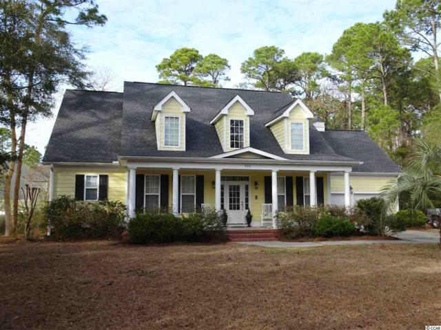 992 Crooked Oak Drive, Pawleys Island, SC 29585 (MLS #1802439) :: Myrtle Beach Rental Connections