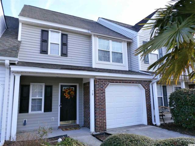 78 Pond View Drive #78, Pawleys Island, SC 29585 (MLS #1802595) :: Sloan Realty Group