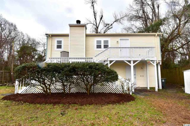 2909 Wiley Drive, North Myrtle Beach, SC 29582 (MLS #1803556) :: The Litchfield Company