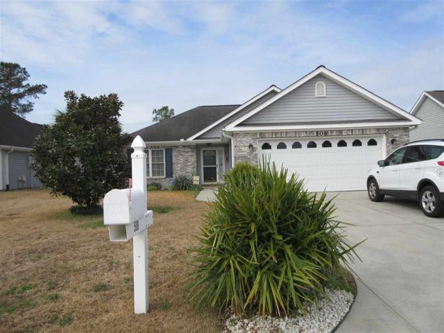508 Brooksher Dr, Myrtle Beach, SC 29588 (MLS #1805567) :: The Litchfield Company