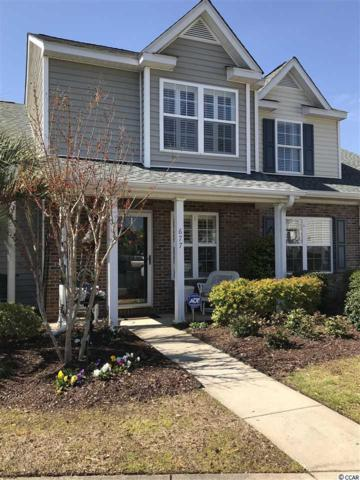 677 Wilshire Lane #677, Murrells Inlet, SC 29576 (MLS #1806669) :: The HOMES and VALOR TEAM
