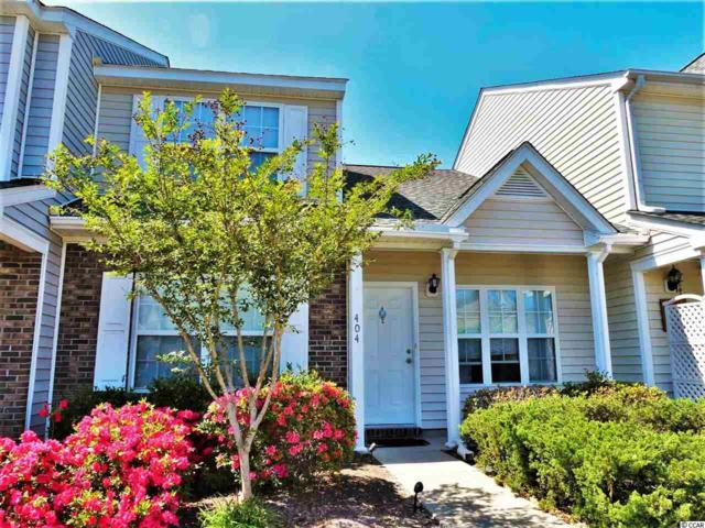 404 Whinstone Dr #404, Murrells Inlet, SC 29576 (MLS #1807214) :: The HOMES and VALOR TEAM