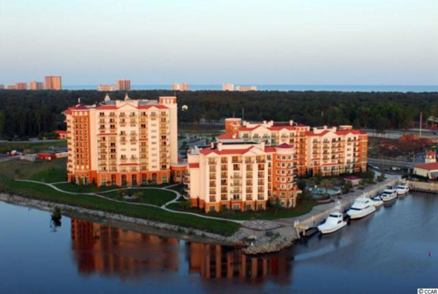 8121 Amalfi Place #5501, Myrtle Beach, SC 29572 (MLS #1808514) :: SC Beach Real Estate
