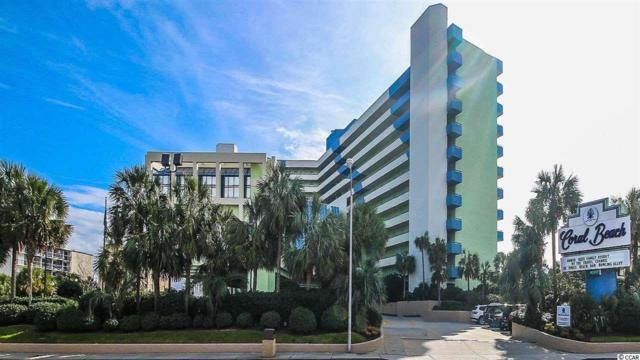 1105 S Ocean Blvd #722, Myrtle Beach, SC 29577 (MLS #1810850) :: Matt Harper Team