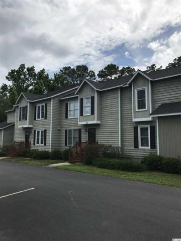 4840 Unit 63 Moss Creek Loop #63, Murrells Inlet, SC 29576 (MLS #1812005) :: James W. Smith Real Estate Co.
