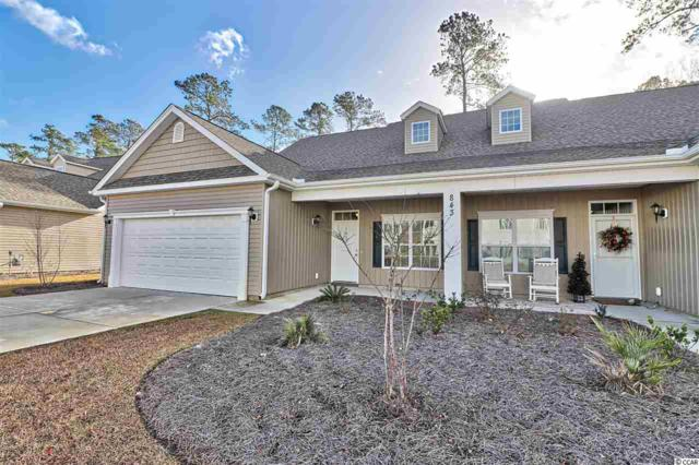 843 Sail Ln. #101, Murrells Inlet, SC 29576 (MLS #1818382) :: The Greg Sisson Team with RE/MAX First Choice