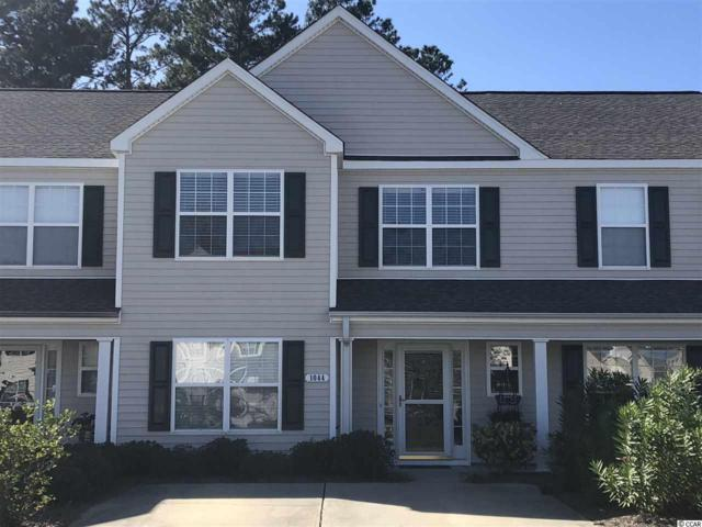 1044 Harvester Circle #1044, Myrtle Beach, SC 29579 (MLS #1822417) :: The Greg Sisson Team with RE/MAX First Choice