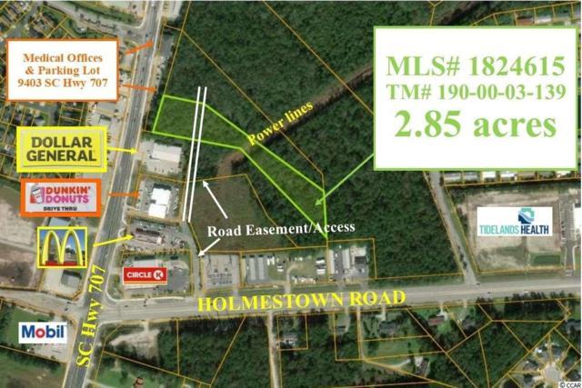 9439 Highway 707, Myrtle Beach, SC 29588 (MLS #1824615) :: The Hoffman Group
