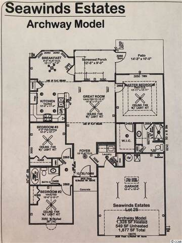 320 Leste Rd., Myrtle Beach, SC 29588 (MLS #2001620) :: Hawkeye Realty