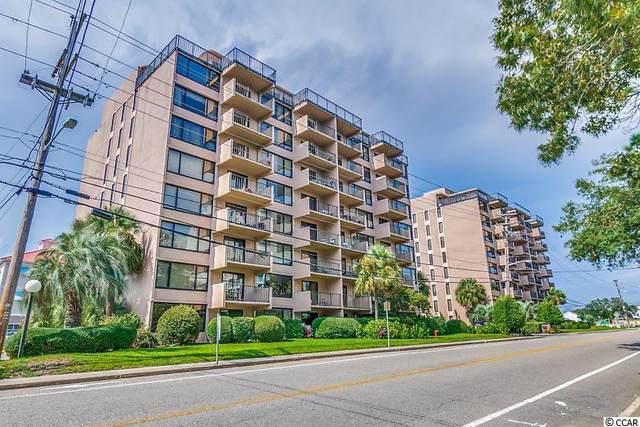 7603 N Ocean Blvd. 7H, Myrtle Beach, SC 29572 (MLS #2019877) :: James W. Smith Real Estate Co.