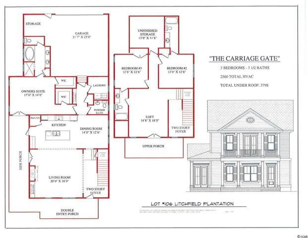 lot 106 Spreading Oak Dr., Pawleys Island, SC 29585 (MLS #2024299) :: Garden City Realty, Inc.
