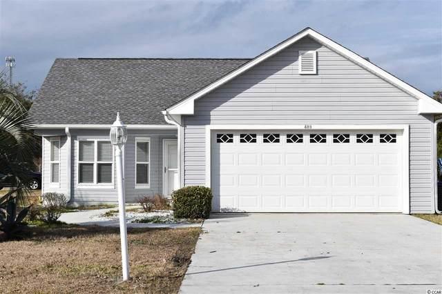 489 Cordgrass Ln., Little River, SC 29566 (MLS #2100686) :: James W. Smith Real Estate Co.
