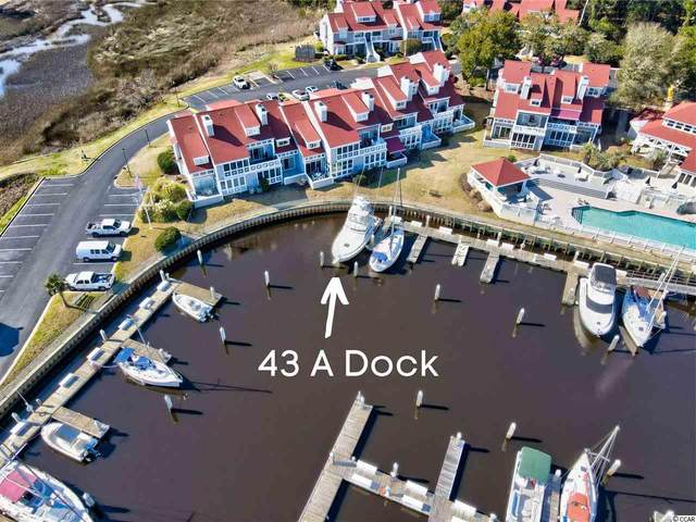 43 A Dock Mariners Pointe, Little River, SC 29566 (MLS #2104485) :: James W. Smith Real Estate Co.