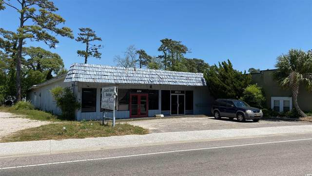 504 Main St., North Myrtle Beach, SC 29582 (MLS #2107859) :: Armand R Roux | Real Estate Buy The Coast LLC