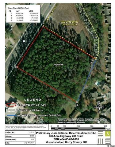 3.84 Acres Highway 707, Murrells Inlet, SC 29576 (MLS #2122016) :: The Lachicotte Company