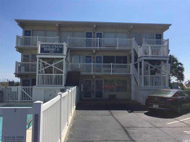 1607 S Ocean Blvd #15, North Myrtle Beach, SC 29582 (MLS #1800814) :: The HOMES and VALOR TEAM