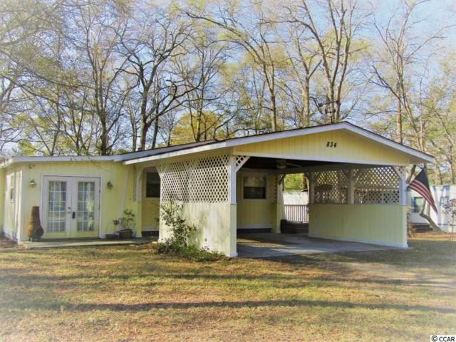 834 Live Oak Dr., Sunset Beach, NC 28468 (MLS #1807913) :: James W. Smith Real Estate Co.