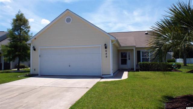 649 Glen Haven Dr., Myrtle Beach, SC 29588 (MLS #1812245) :: Right Find Homes