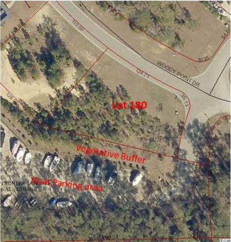 Lot 180 Woody Point Dr., Murrells Inlet, SC 29576 (MLS #1813491) :: The Hoffman Group