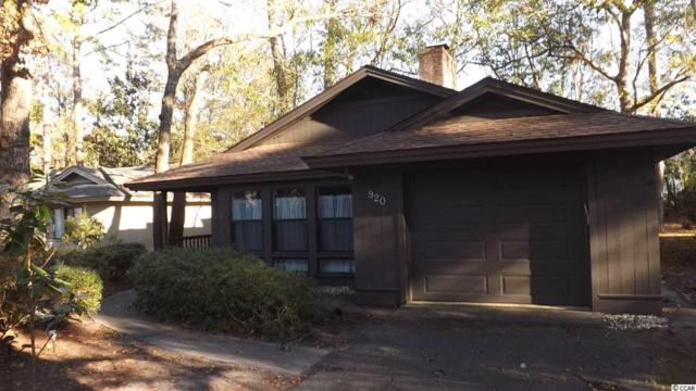 920 Briarwood Dr., Myrtle Beach, SC 29572 (MLS #1819048) :: James W. Smith Real Estate Co.